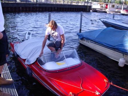 Das Vereinsboot